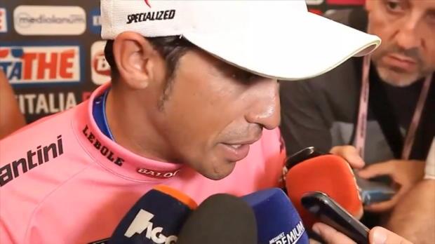 """Giro: Contador: """"Ein unglaublicher Giro"""""""