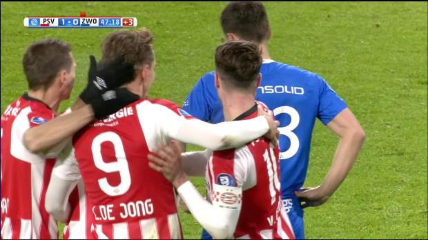 Ex-Gladbacher de Jong mit Hattrick bei PSV-Gala