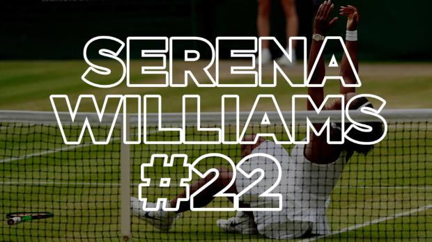 Wimbledon: Serena zieht mit Graf gleich