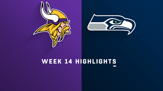 Vikings vs. Seahawks highlights | Week 14