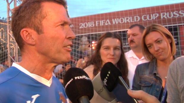 Matthäus: Boateng? Sonnenbrille über Fußball