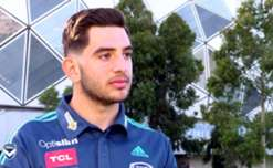 Melbourne Victory has signed young forward Christian Theoharous as a scholarship player.