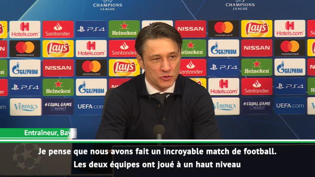 Groupe E - Kovac - 'Un incroyable match de football'