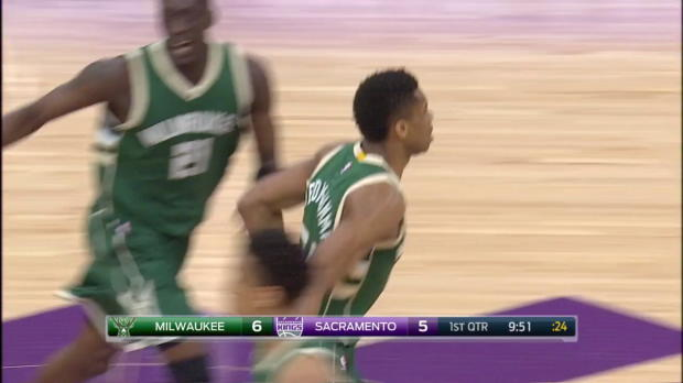 WSC: Highlights: Giannis Antetokounmpo (32 points) vs. the Kings