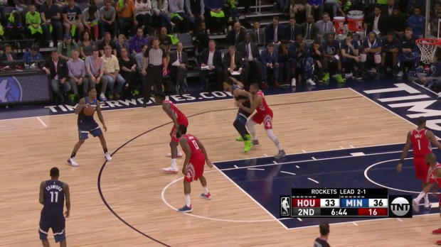 WSC: Karl-Anthony Towns 22 points vs the Rockets