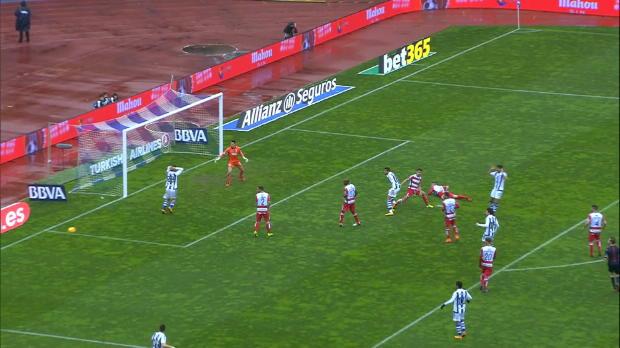 LaLiga Round 24 : Real Sociedad 3-0 Granada