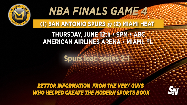 Spurs @ Heat Game 4