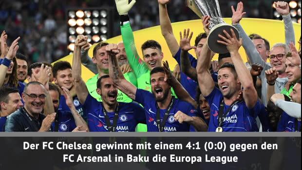 Fast Match Report: Chelsea gewinnt Europa League