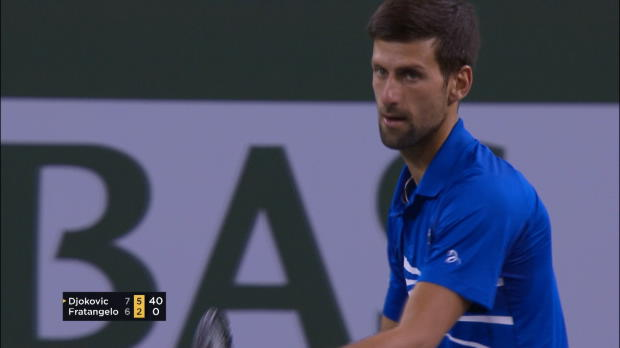 : Indian Wells - Djokovic décroche sa 50e victoire à Indian Wells
