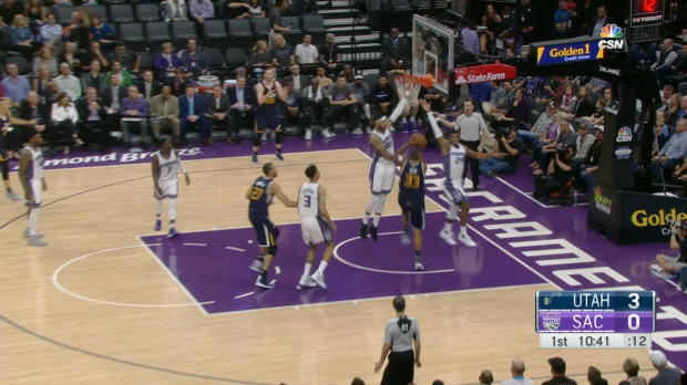 GAME RECAP: Jazz 112, Kings 82