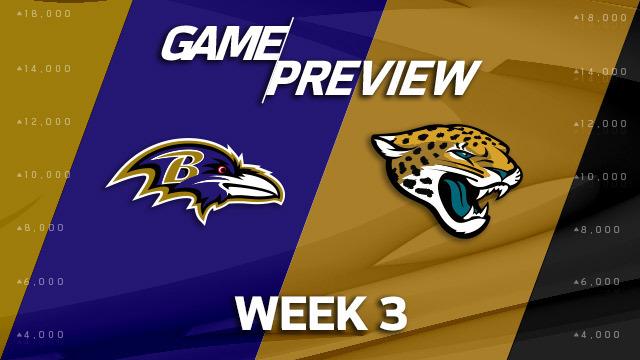 Baltimore Ravens vs. Jacksonville Jaguars preview | 'NFL Playbook'