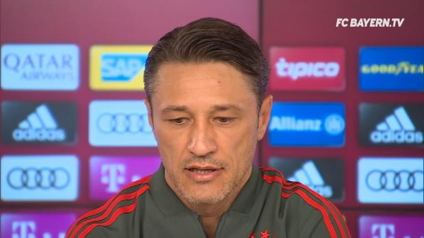 "Kovac: Rotation? ""Jeder Einzelne ist heiß!"""
