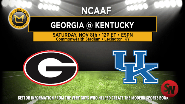Georgia Bulldogs @ Kentucky Wildcats