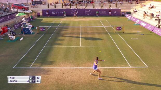 Tennis : Majorque - Garcia en demi-finale