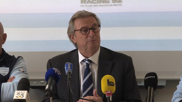 Top 14 - Dopage : Lorenzetti : 'Le Racing n'est coupable de rien'