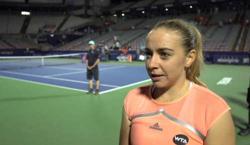 Kucova Interview: WTA Montreal 3R