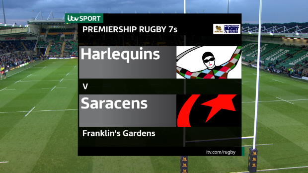 Aviva Premiership - Match Highlights - Harlequins 7s v Saracens 7s