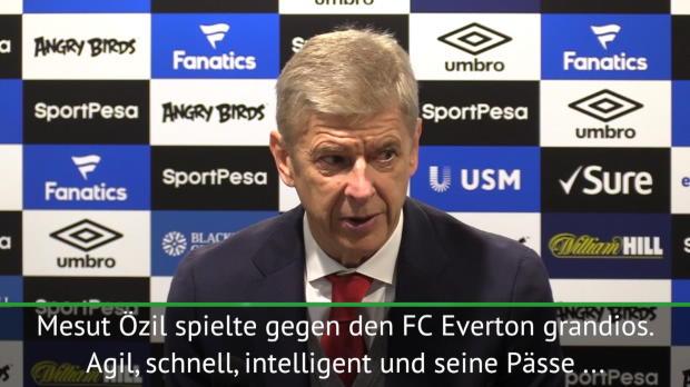 Wenger: Özil-Gerüchte sind Fake News