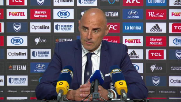 Melbourne Victory Rd23 press conference