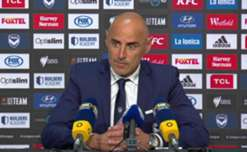 Kevin Muscat thought his side were 'outstanding' following their 4-1 win over Glory at AAMI Park on Saturday night.