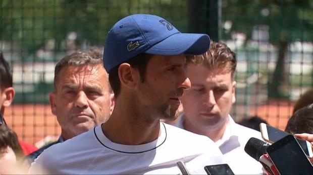 Djokovic erleichtert: Bin endlich schmerzfrei