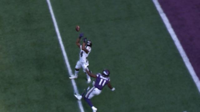 freeD: 360 view of Brandon Carr interception | Week 7