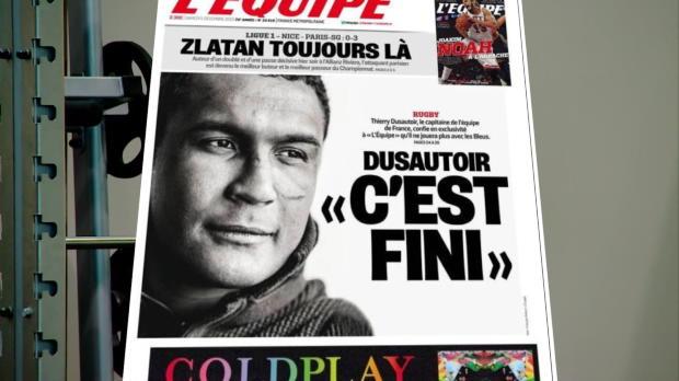 XV de France - Dusautoir, fin de l'aventure tricolore