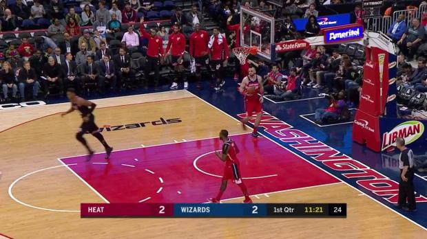 WSC: Hassan Whiteside (22 points) Game Highlights vs. Washington Wizards