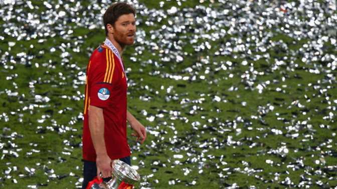 Xabi Alonso arrête avec l'Espagne