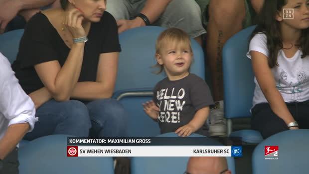 2. Bundesliga: SV Wehen Wiesbaden - Karlsruher SC   DAZN Highlights