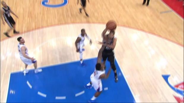 Basket : NBA - Les Spurs reviennent à hauteur
