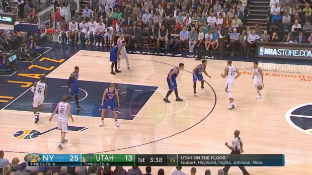 WSC: Highlights: Rudy Gobert (35 points) vs. the Knicks