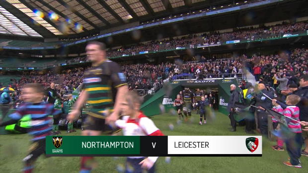 Aviva Premiership : Aviva Premiership - Match Highlights - Northampton Saints v Leicester Tigers - Round 6