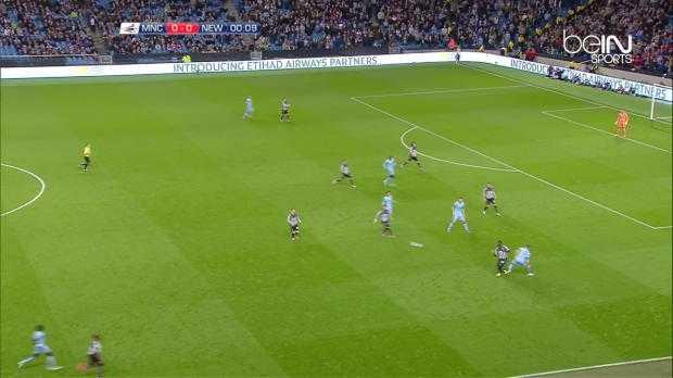 League Cup : Man City 0-2 Newcastle