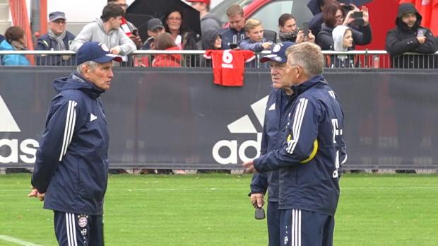 Gisdol über Heynckes und die Champions League