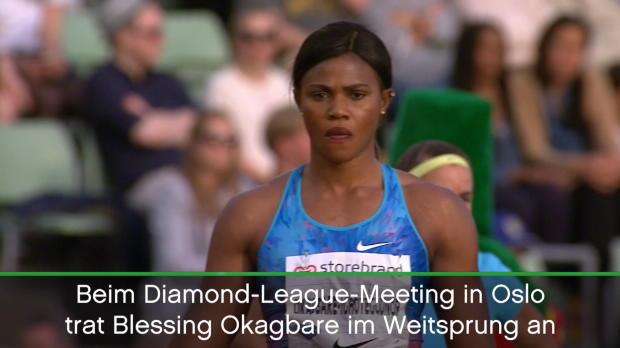 Diamond League: Nigerianerin verliert Perücke