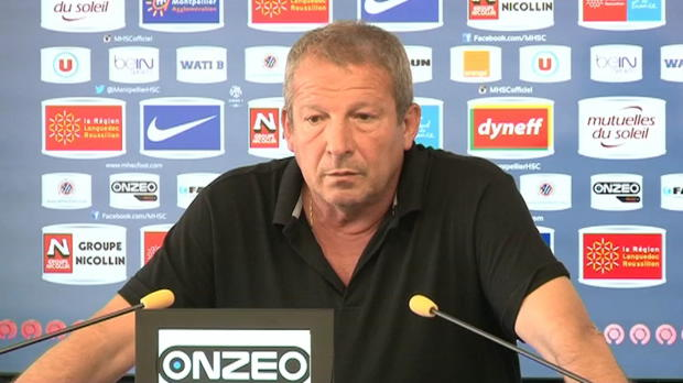 MHSC - Courbis : 'Faire un bon match � Marseille'