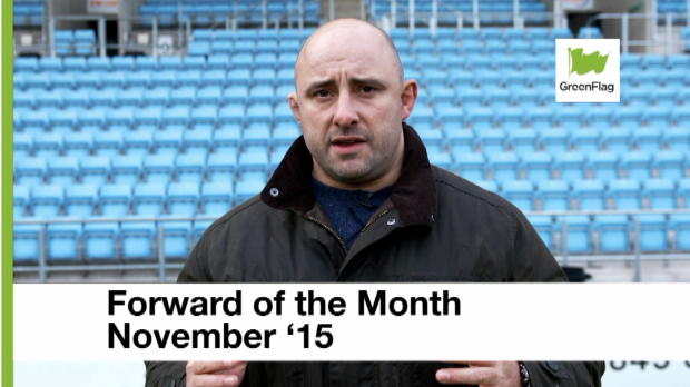 Aviva Premiership - Green Flag At The Breakdown - Forward of the Month - November 2015