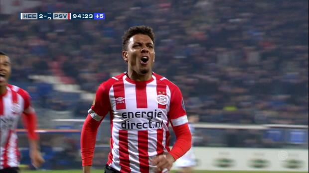 Pays-Bas - Le PSV arrache le nul dans les dernières secondes