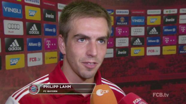 Bousculé mais vainqueur (2-1) de Wolfsburg, le président Karl-Heinze Rummenige, le capitaine Philippe Lahm et Arjen Robben sont satisfaits du premier match de leur équipe.