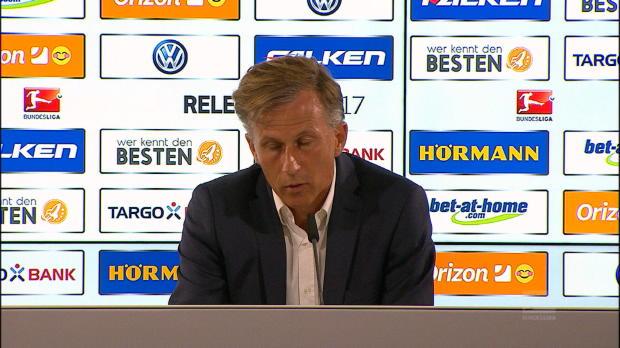 """Relegation: Jonker: """"Bin nicht ganz froh"""""""