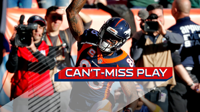 Can't-Miss Play: Trevor Siemian uncorks jump-ball TD to Demaryius Thomas