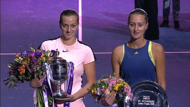 : Saint-Petersbourg - Mladenovic battue en finale