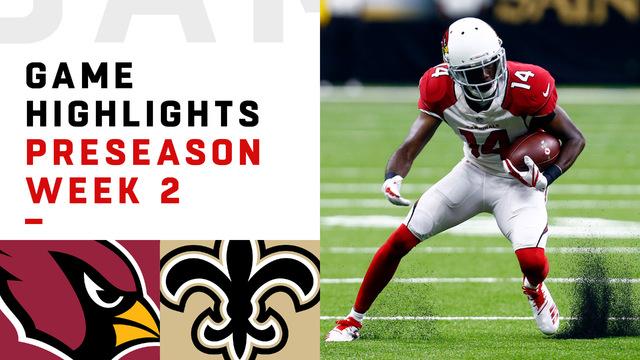 Cardinals vs. Saints highlights | Preseason Week 2