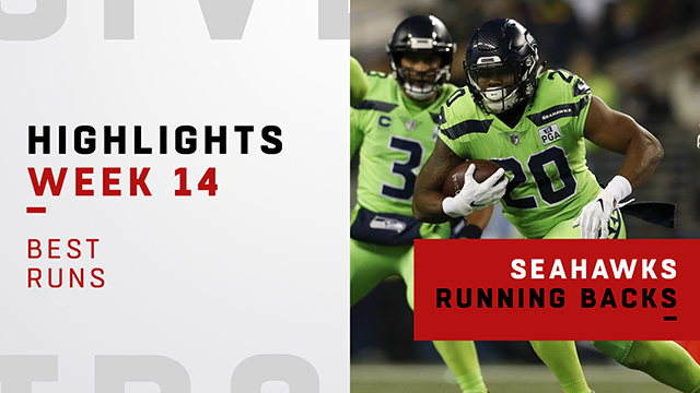 Seahawks' best runs vs. the Vikings | Week 14