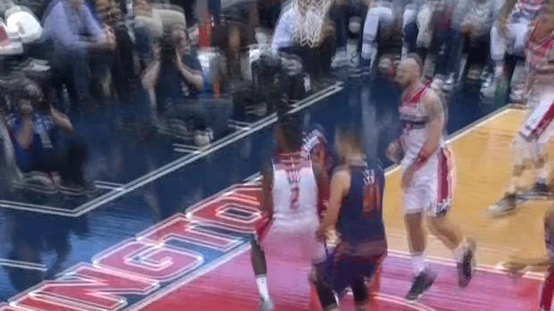 Block of the Night - John Wall