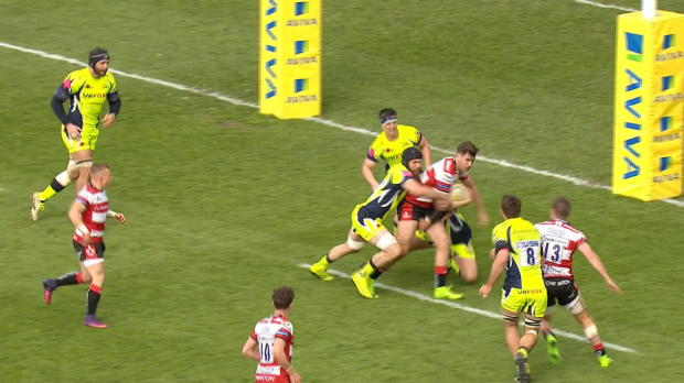 Aviva Premiership - Match Highlights - Gloucester Rugby v Sale Sharks