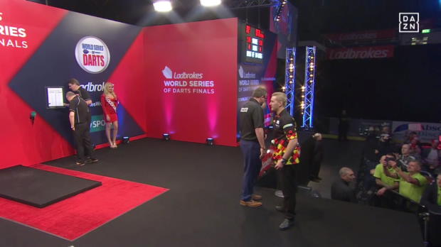 World Series of Darts Finals - Day 3 Session 1