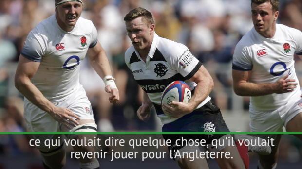 """Rugby : Angleterre - Jones - """"Impatient de voir ce que Ashton peut nous amener"""""""