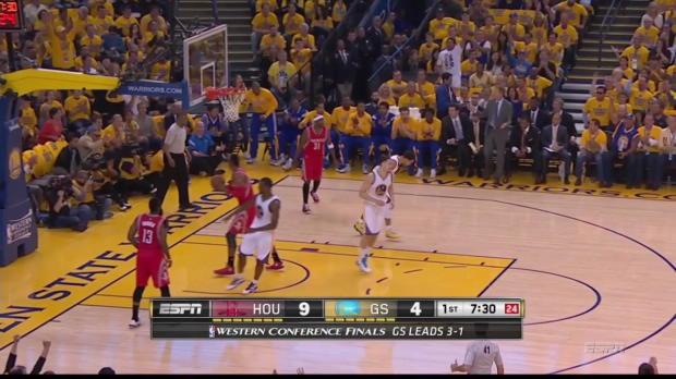 Steph Curry führt die Warriors in die Finals